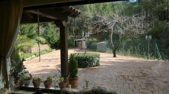 Hotel Rural El Bosque De La Herrezuela: Entrada princiopal