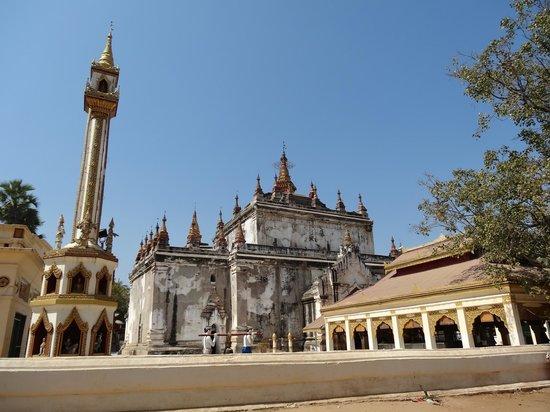 Manuha Temple: Vue extérieure