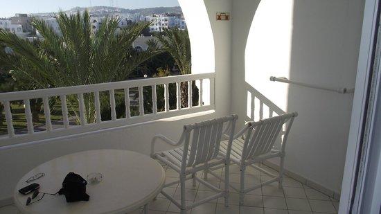 SENTIDO Aziza Beach Golf & Spa: balcon