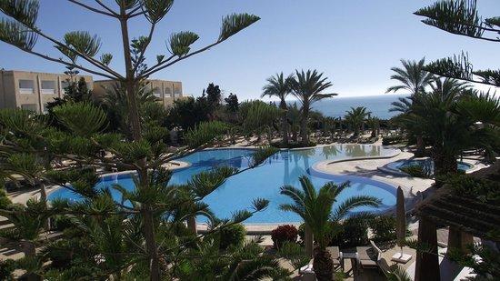 SENTIDO Aziza Beach Golf & Spa: Vue super