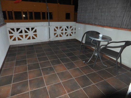 Condado Hotel Barcelona: Balcon