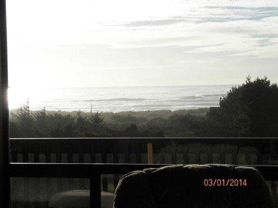 Gold Beach Inn : View from Room