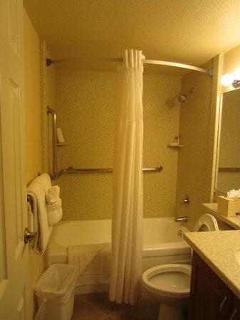Jockey Club: ванная небольшая. но была вторая ванная  с душем