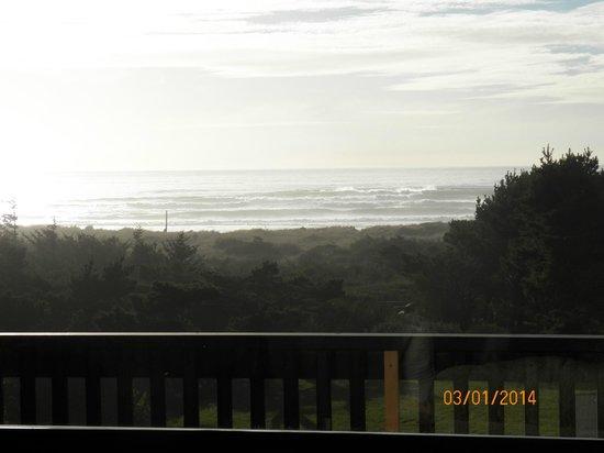 Gold Beach Inn: View from Room