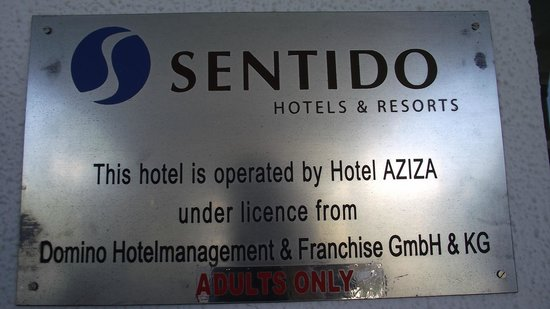 SENTIDO Aziza Beach Golf & Spa : the best thing:just for adults