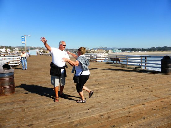 Pismo Pier: February is definitely a slow time. We had lots of room!