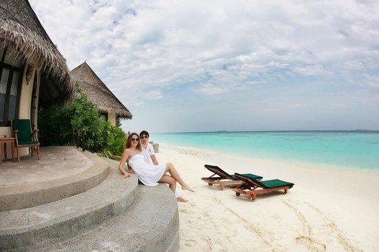 Coco Palm Dhuni Kolhu: Наш пляж