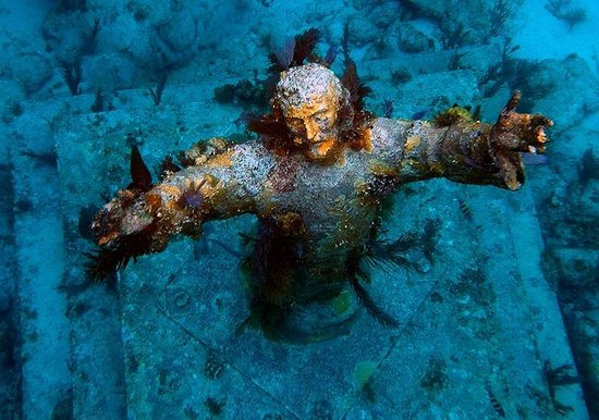 Image result for Christ of the Abyss