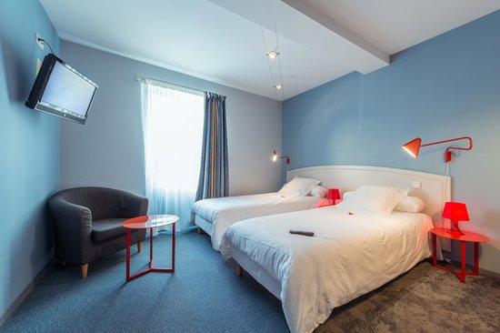Hotel Le Miredames: Chambre TWIN