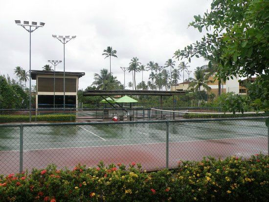 Enotel Acqua Club - Porto de Galinhas: Canchas de tennis