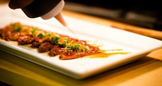 Kyo bar japonais montreal quartier international menu for Restaurant kyo