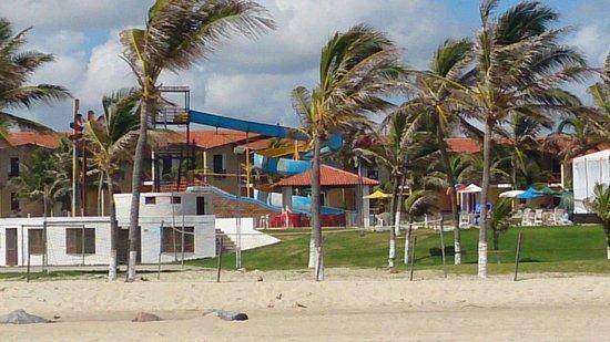 Jangadeiro Praia Hotel: Vista do parque aquático