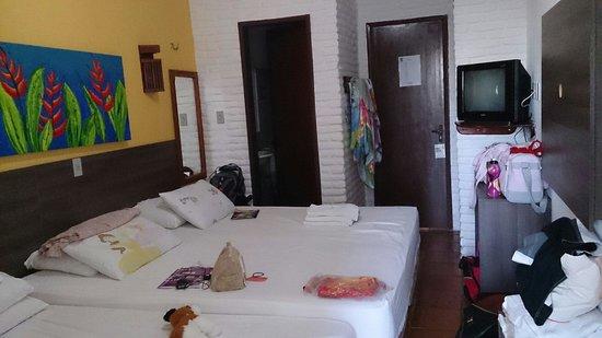 Jangadeiro Praia Hotel: Quarto luxo parte 2