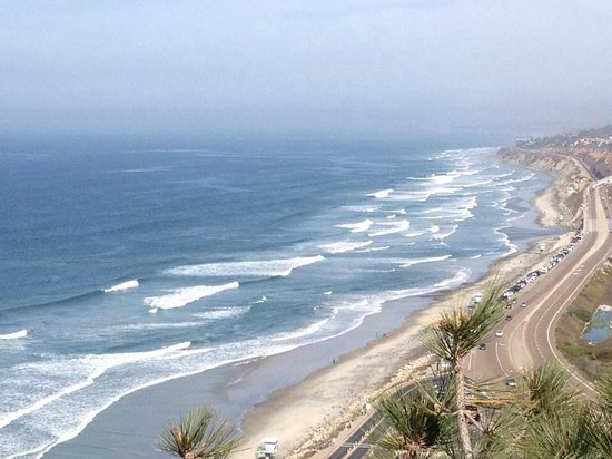 Hilton La Jolla Torrey Pines: View from Reserves next to hotel