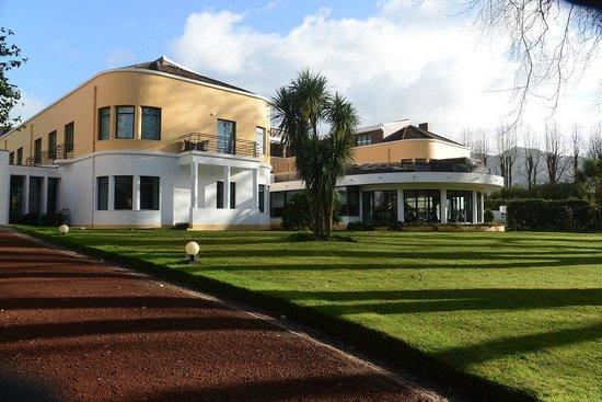 Terra Nostra Garden Hotel: Restaurant wing