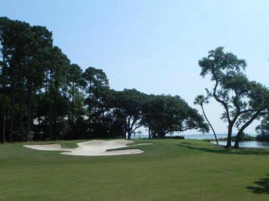 Oyster Reef Golf Club: Hole 6