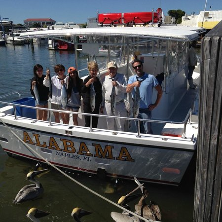 Macrole picture of a b fishing charters naples for Deep sea fishing naples fl