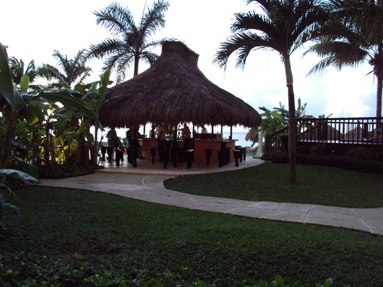 El Cozumeleno Beach Resort: the view from my patio
