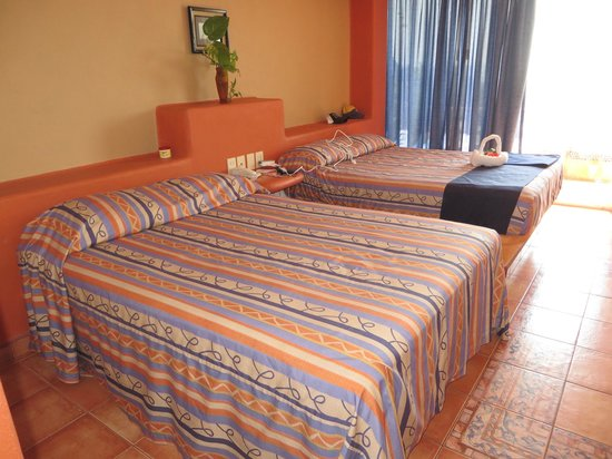 Hotel Irma: Most rooms are double beds - room 303