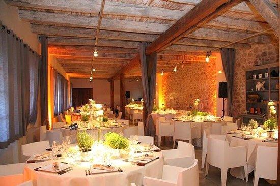 Institut Gastronomie Riviera : salle de reception