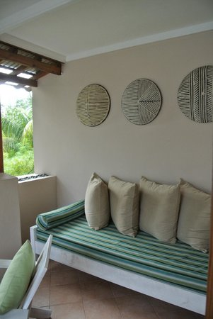 Indian Ocean Lodge: terrasse chambre