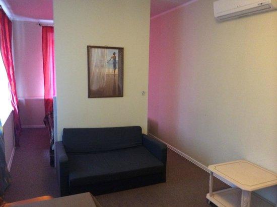 Hotel Bulvar: диван