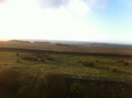 Carraw Bed & Breakfast: view from car parl