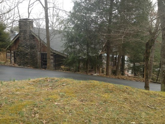 Evins Mill : The Main Lodge where meals are served.