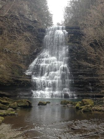 Evins Mill: Cormac Falls-a short hike from inn.