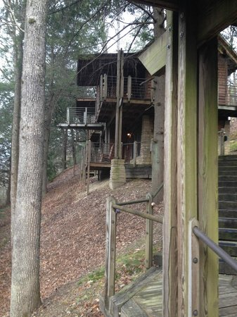 Evins Mill: The suites with outdoor deck and private entrances.