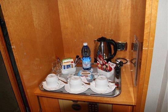 Hotel Artemide: Te y galletas