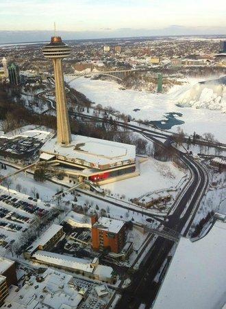 Hilton Niagara Falls/Fallsview Hotel & Suites: our view