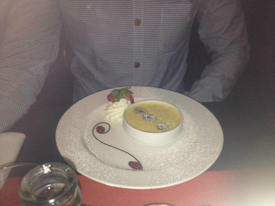 Bridge House Hotel, Spa and Leisure Club: dessert in restaurant, fab!