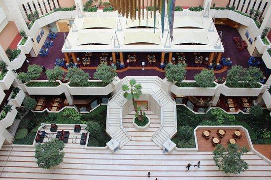 Hilton Prague: L'espace central