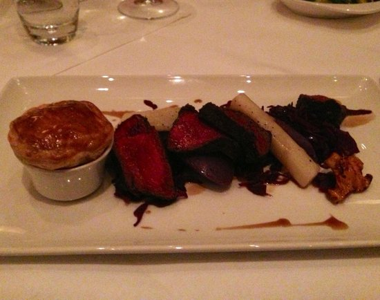 Stoke Park Country Club, Spa and Hotel: Venison