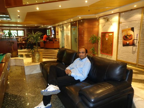 Admiral Plaza Hotel: WAITING AREA