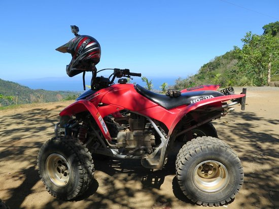 ATV Adventure Tours Costa Rica: View from the first rest stop.