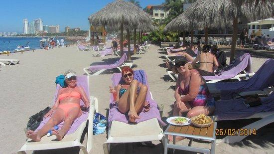 Secrets Vallarta Bay Puerto Vallarta: Beach