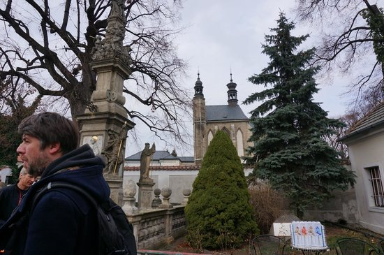 SANDEMANs NEW Prague Tours : Pavel our entertaining guide for the tour to Kutna Hora