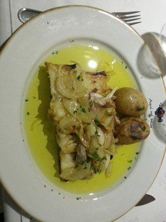 Aqui Há Peixe: Bacalhau que estava uma delícia