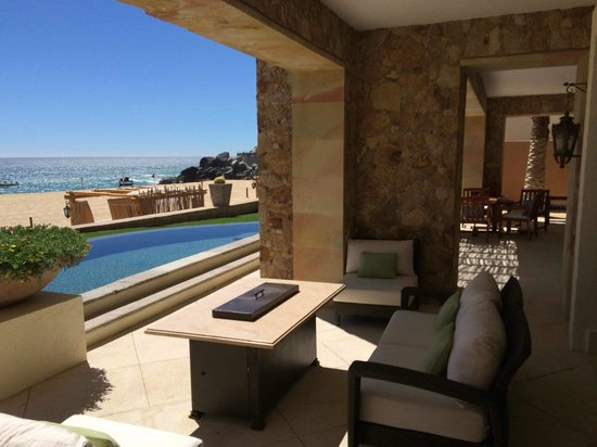 The Resort at Pedregal: Presidential Suite - Patio Off of Master Bedroom