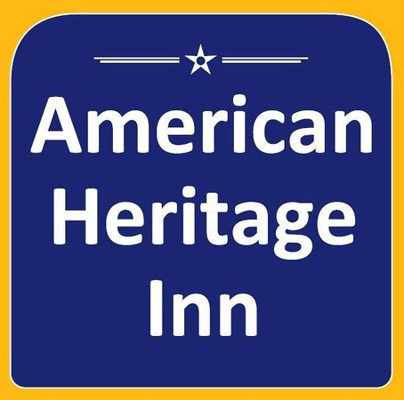 American Heritage Inn: Sign