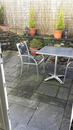 The Howbeck : Retreat's private patio