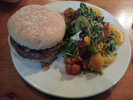 The Smiddy Bistro: Steak Burger