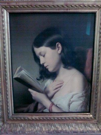 Belvedere Palace Museum : Girl Reading - Franz Eybl