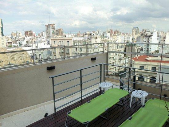 Hotel N'ontue: terraza