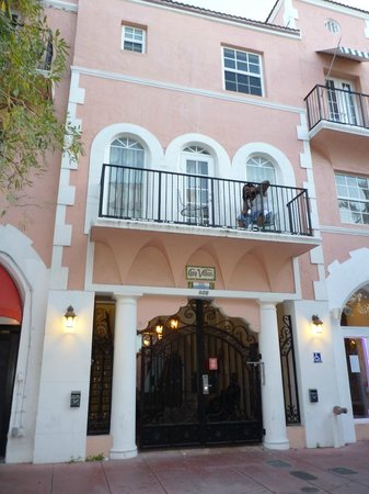 The Clay Hotel: la porte d'entrée