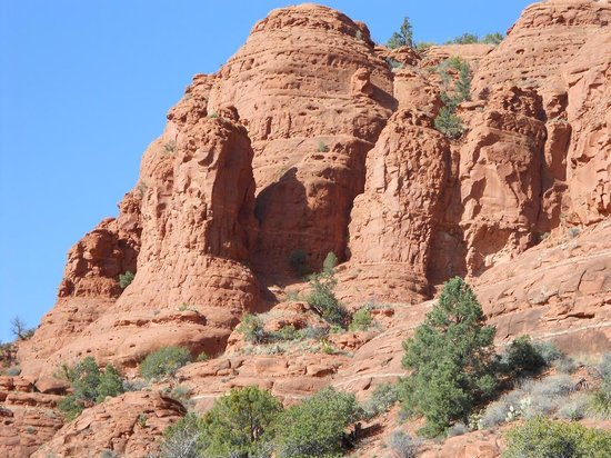 Hillside Sedona: More Beautiful Prehisotric Rock Formations