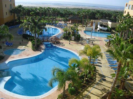 Playaballena Spa Hotel: Vistas desde el apartamento en el hotel Playa Marina (Huelva