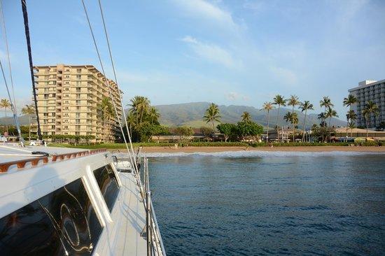 Gemini Charters: Looking towards Ka'anapali Beach